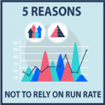 5 reasons why not to rely on run rate too much