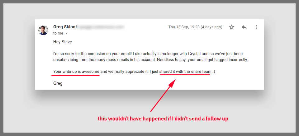 how to write a follow up email after you get rejected leadgibbon